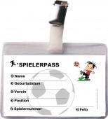 Spieler-Ausweis Fußball