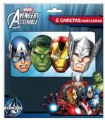 6 Masken Avengers