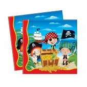 20 Servietten Little Pirates