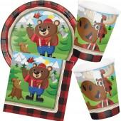 33-teiliges Spar-Set: Lum-Bear Jack