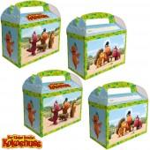 8 Geschenkboxen Kleiner Drache Kokosnuss