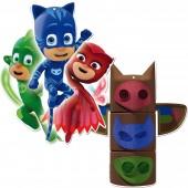 2 Deko-Figuren PJ Masks