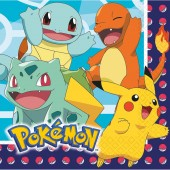 16 Servietten Pokémon
