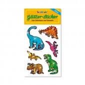 Dino Glitter Sticker