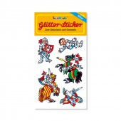 Ritter Glitter Sticker