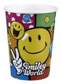 "8 Becher ""Smiley World"""
