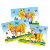 Wackelbild und Postkarte Mein Ponyhof