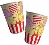 8 Party-Becher Winnie Pooh Alphabet