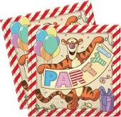 20 Servietten Winnie Pooh Alphabet