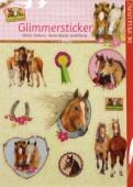Pferdefreunde Glitter Sticker