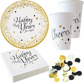 37-teiliges Spar-Set: Happy New Year