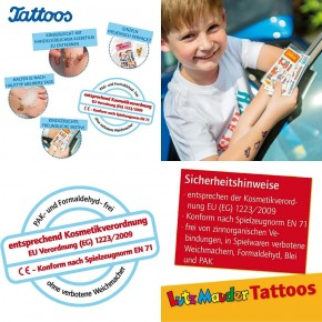 Schulanfang Mädchen Tattoos