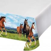 Tischdecke Pferde und Pony