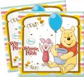 20 Servietten Winnie Pooh - Sweet Tweets
