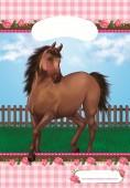 8 Partytüten Pferd
