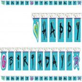 Happy Birthday Banner Girls Rock!