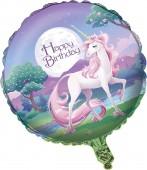 Folienballon Fantasy Einhorn