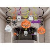 30 Deko-Wirbel Halloween