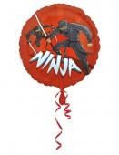 Folienballon Ninja Ohne - Helium-Füllung