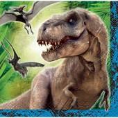 16 kleine Servietten Jurassic World
