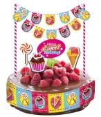 Kuchen Deko Set Cupcakes