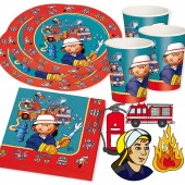 48-teiliges Spar-Set: Feuerwehr