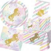 103-teiliges Spar-Set: Goldenes Einhorn