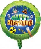 Folienballon Verrückter Forscher