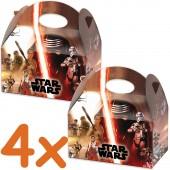4 Geschenkboxen Star Wars VII