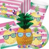87-teiliges Set: Pineapple & Friends