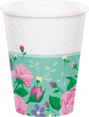 8 Party-Becher Floral Fairy