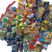 """Pinata-Set """"Ente"""" mit Süßigkeiten + Schläger + Maske"""