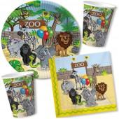 53-teiliges Spar-Set: Zoo & Zootiere