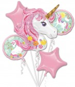 Folienballon-Set Magical Unicorn