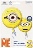 Folienballon Minions - Ohne Helium
