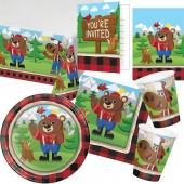 101-teiliges Set: Lum-Bear Jack
