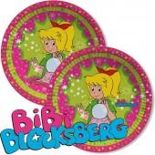 8 Teller Bibi Blocksberg