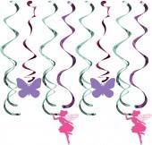 5 Dekowirbel Floral Fairy