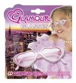 Sonnenbrille Glamour Girl mit Glittzer