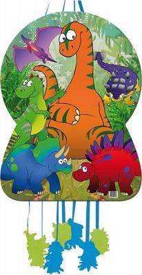Pinata Süßer Dino im Set