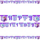 Happy Birthday Banner Frozen - Northern Lights