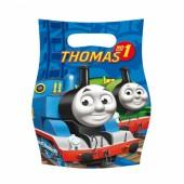 6 Partytüten Thomas die kleine Lokomotive