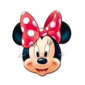 6 Minnie Mouse-Masken