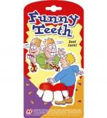 Gebiss lustige Zähne