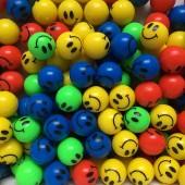 24 Smiley Flummis