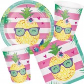 33-teiliges Spar-Set: Pineapple & Friends