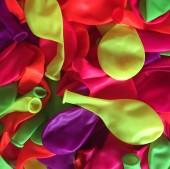 100 bunt gemischte NEON Luftballons