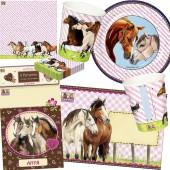104-teiliges Set: Pferdefreunde
