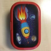 """Lunchbox """"Rakete"""" von Lutz Mauder"""