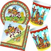 37-teiliges Spar-Set: Indianer Yanuk